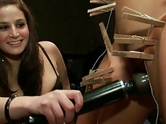Lascivious sex serf acquires a nasty public punishment